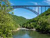 New River Gorge bridge from Fayette Station Road
