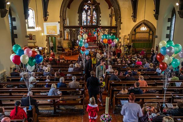 New School Intake & Balloon Release