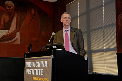 "The New School University and India China Institute Presents: ""Higher Education in India"" Discussion with a Special Talk by Sukhadeo Thorat in the Orozco Room at 66 West 12th Street on October 28, 2013 in New York City."