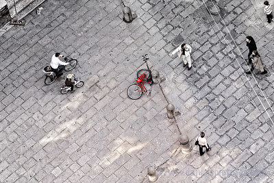 Bicycle down!
