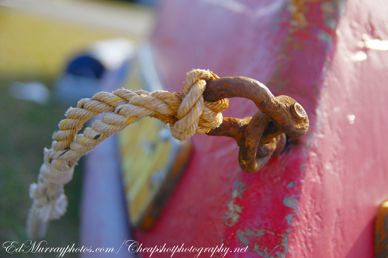 Knot tied