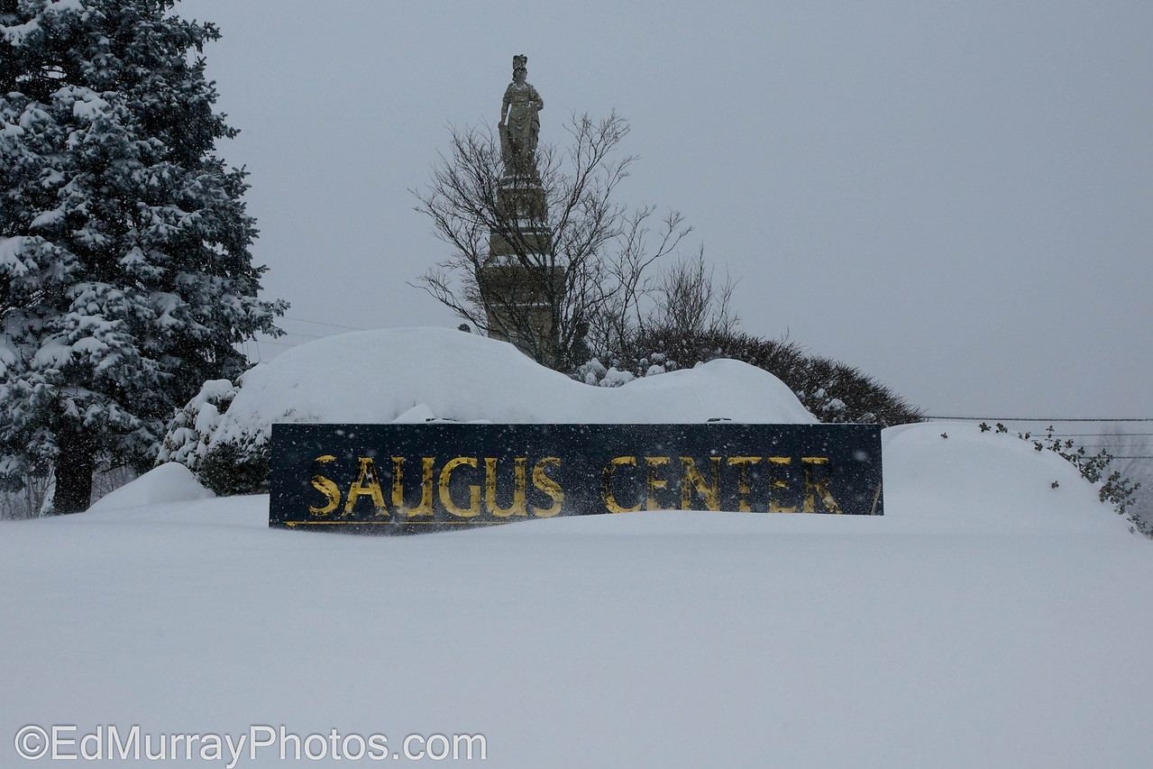 A Sign of Snow:  2/13/2013