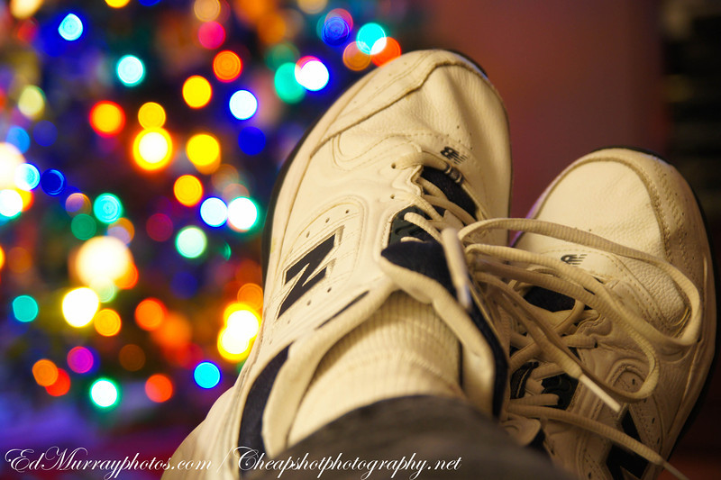 Shoe lights.....for Paula Beehner, my feeble attempt at her sole challenge