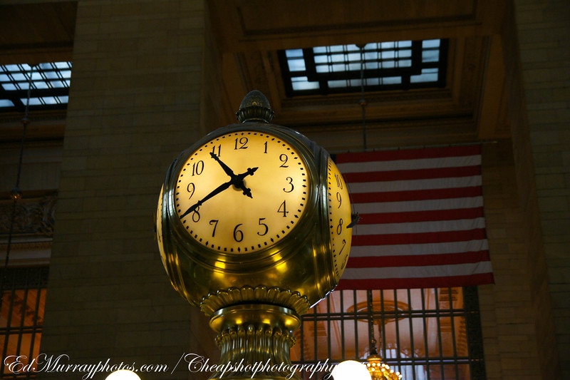 Time: The clock at Grand Central Station