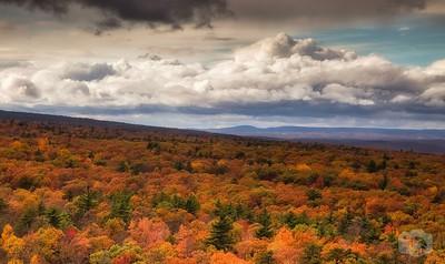 Autumn at Lake Minnewaska State Park