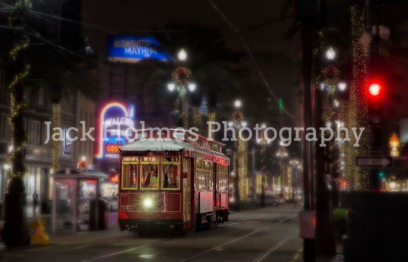 Streetcar at Christmas