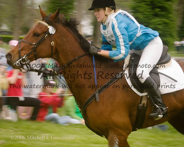 Emily Anker and Balmoral Cavalier