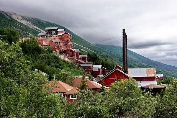 Alaska, Kennicot Mine (McCarthy), Kennicot Mine (McCarthy), McCarthy, Wrangell St Elias National Park