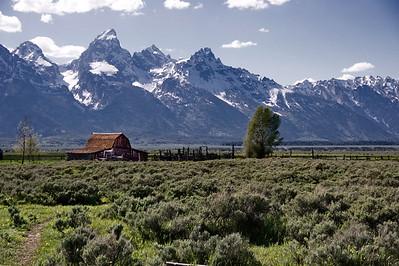 Grand Teton, Grand Teton-Yellowstone Natl Park, Mormon Road, Wyoming