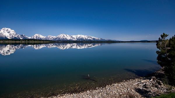 Grand Teton-Yellowstone Natl Park, Jackson Lake, Wyoming