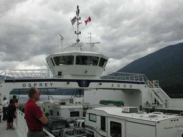 British Columbia, Shelter Bay-Galena Bay Ferry