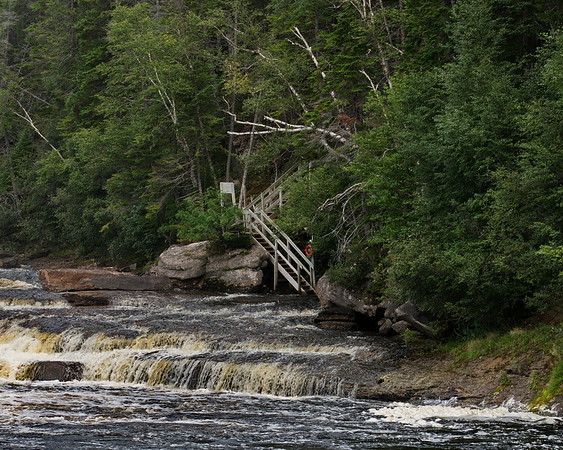 Big Falls, Newfoundland, Sir Richard Squiries Provincial Park