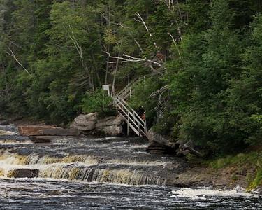 Big Falls, Newfoundland, Sir Richard Squiries Provincial Park