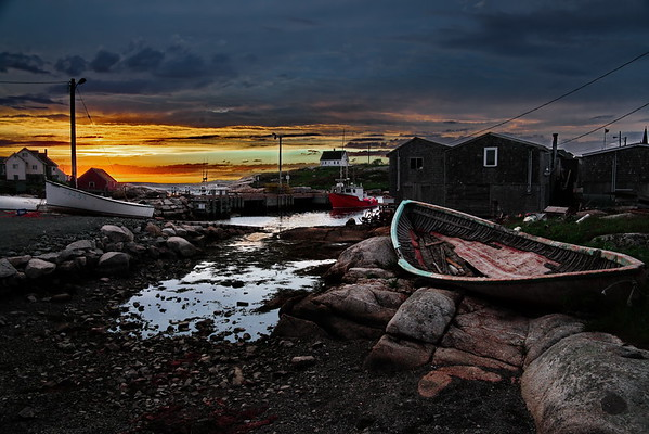 Nova Scotia, Peggy's Cove