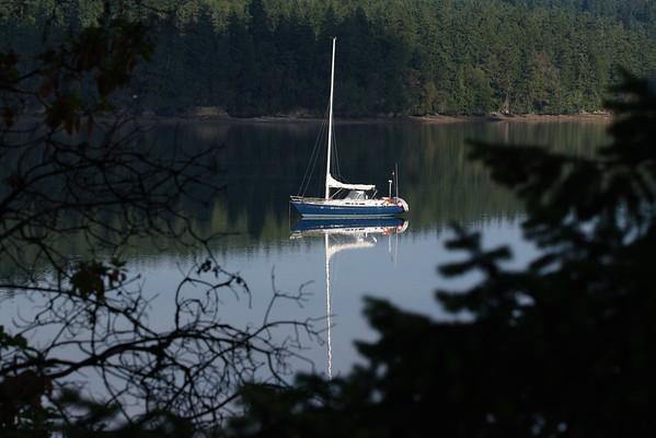 Marrowstone Island, Scow Bay, Washington