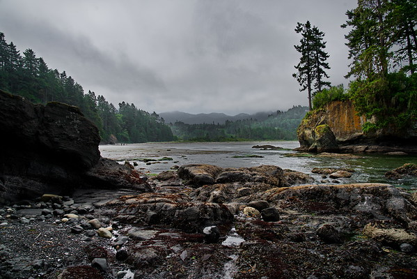 Crescent Bay, Port Angeles, Salt Creek Recreation Area, Washington