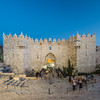 Damascus Gate at Night, Jerusalem