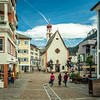 Strolling in St. Ulrich-Ortisei, South Tyrol, Italy