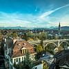Bern and the Alpine Horizon, Switzerland
