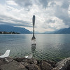 Fork in the Lake, Vevey, Switzerland