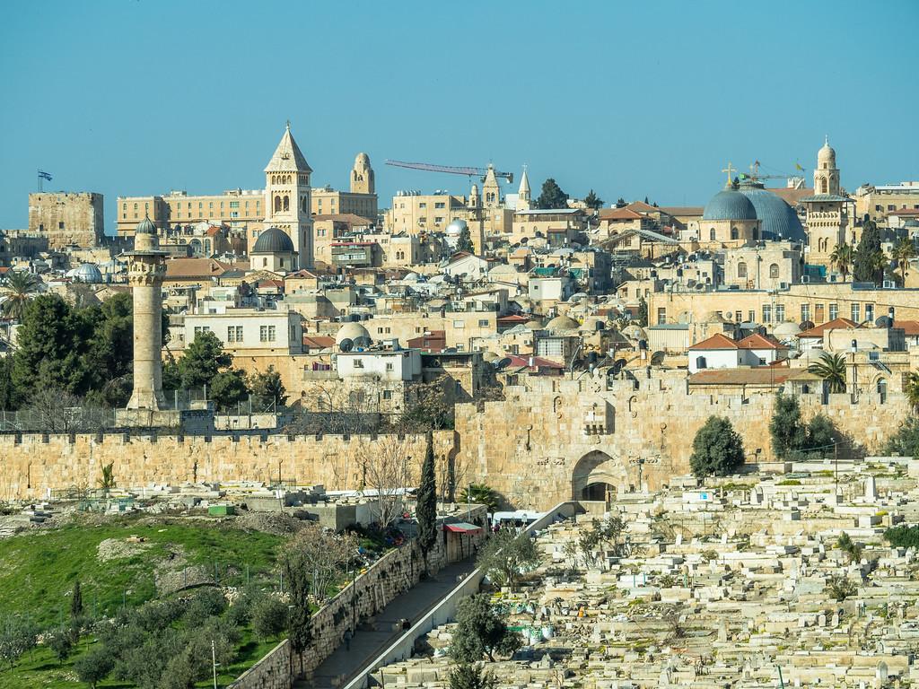 The Old City from the Lion's Gate, Jerusalem