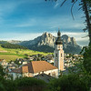 Castelrotto and the Schlern, South Tyrol, Italy