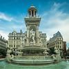At the Place de Jacobins, Lyon, France