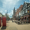 Entering the Old Town, Chester, England