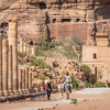 On the Street of Columns, Petra, Jordan
