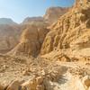 Trailway in Wadi Arugot, Ein Gedi, Israel