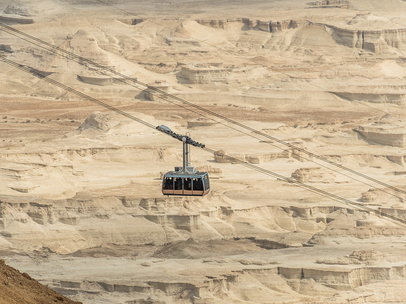 The Cable Car (for wimps), Masada, Israel