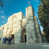 Outside St. Anne's Church, Jerusalem