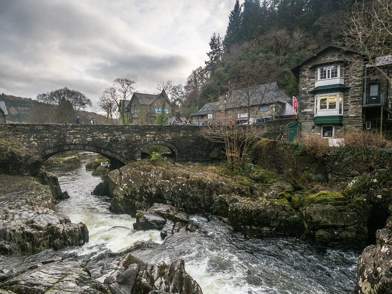 Rugged River, Betws-y-Coed, Wales