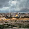 Lights Come on in Jerusalem
