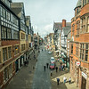 Looking Down Eastgate Street, Chester, England