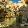 Hidden Falls of Wadi Arugot, Ein Gedi, Israel