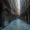 Narrow Street, Lyon, France