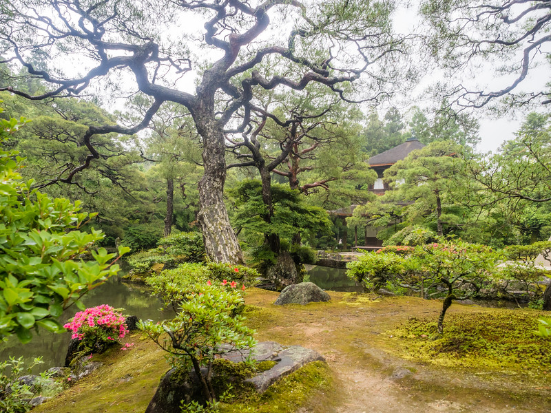 The Gardens of Ginkaku-ji, Kyoto, Japan