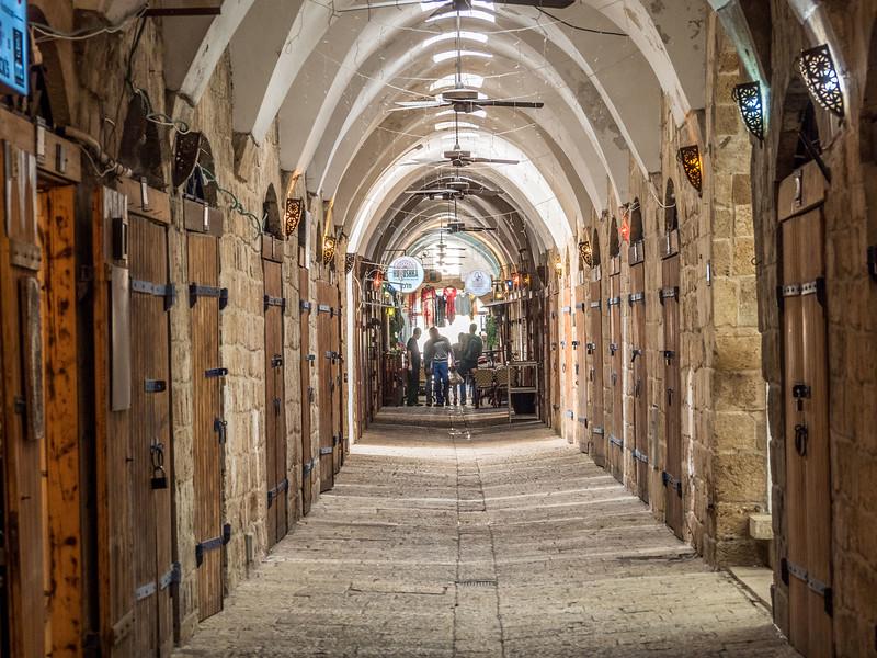 Closed Doors of the Turkish Bazaar, Akko, Israel