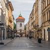 St Florian's Gate, Kraków, Poland