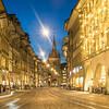 Night on the Marktgasse, Bern, Switzerland