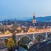 Night on the City, Bern, Switzerland