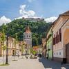 In the Town of Râșnov, Romania