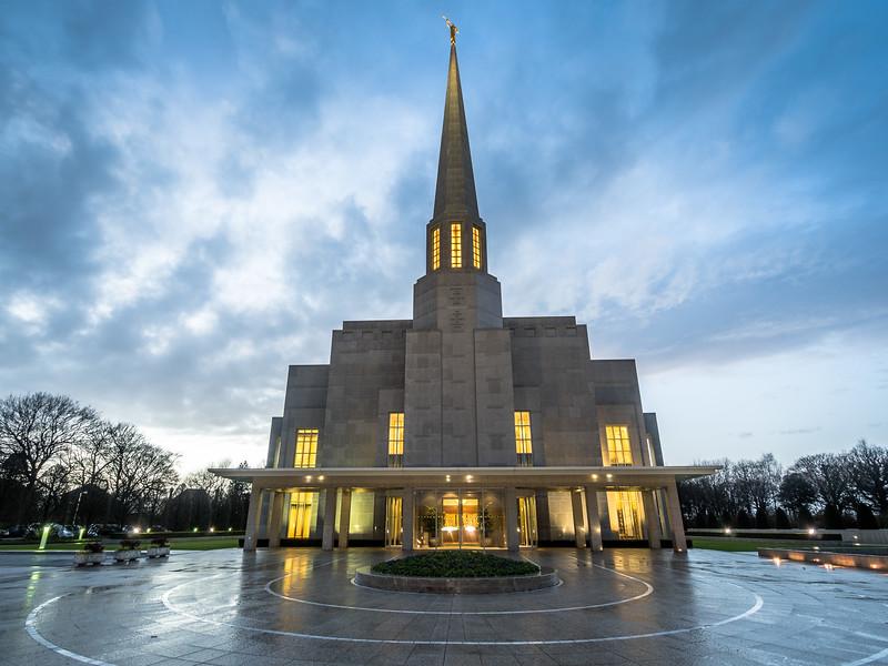 The Preston Temple, England
