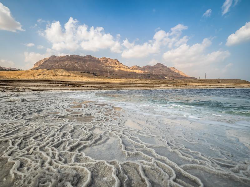 Dead Sea Shore and Ein Gedi, Israel