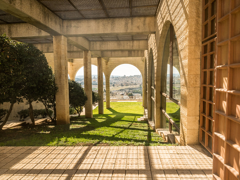 Jerusalem from the Brigham Young University Campus