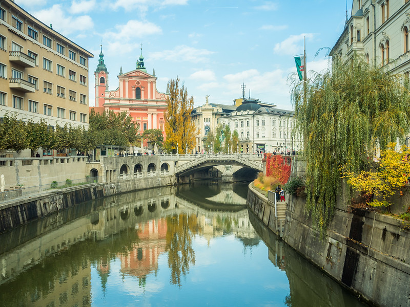 Ljubljana Riverfront, Slovenia