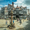 At the Chester Cross, England