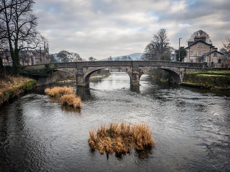 On the Kent River, Kendal, England