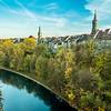 Spires over the Aare, Bern, Switzerland